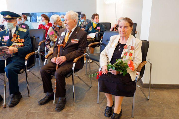 Встреча с ветеранами ВОВ в преддверии Дня Победы